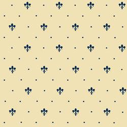 Grand Elegance giglio blu su crema | Carrelage mural | Petracer's Ceramics