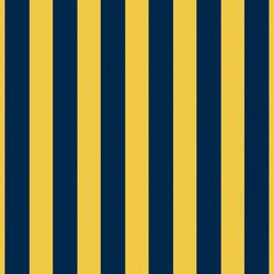 Grand Elegance riga grande blu su giallo ocra | Carrelage céramique | Petracer's Ceramics