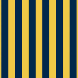 Grand Elegance riga grande blu su giallo ocra | Keramik Fliesen | Petracer's Ceramics