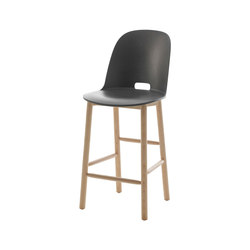 Alfi Counter stool high back | Bar stools | emeco