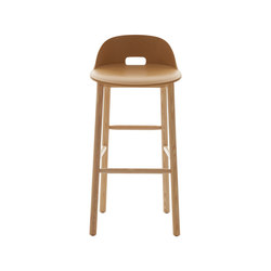 Alfi Barstool low back | Sgabelli bar | emeco