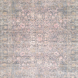 Immersive Fields grey pink | Rugs | THIBAULT VAN RENNE
