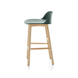Alfi Counter stool low back | Bar stools | emeco