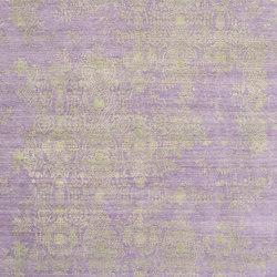 Inspirations T3 purple lime green | Rugs | THIBAULT VAN RENNE