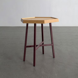 Hex | End Table | Side tables | David Gaynor Design