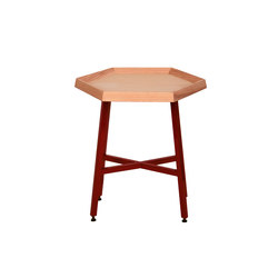 Hex End Table | Tables d'appoint | David Gaynor Design