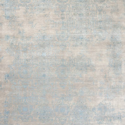 Inspirations T3 light grey & blue | Rugs / Designer rugs | THIBAULT VAN RENNE