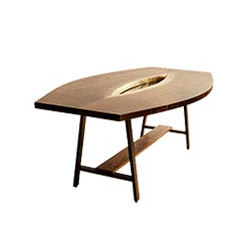Inverted Live Edge Table | Mesas comedor | David Gaynor Design