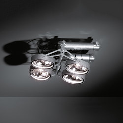 Nomad XYZ 4x AR111 2xGI | Faretti a soffitto | Modular Lighting Instruments