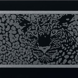 Gran Galà leopardo nero | Wall tiles | Petracer's Ceramics