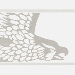Gran Galà falcone bianco | Wandfliesen | Petracer's Ceramics