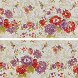 Primavera Romana fioritura su bianco | Carrelage | Petracer's Ceramics