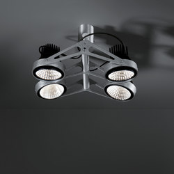 Nomad for Smart rings 4x LED GE | Ceiling-mounted spotlights | Modular Lighting Instruments