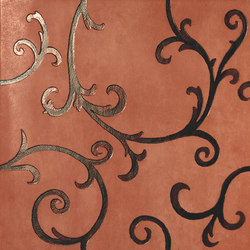 Rinascimento Decorata rame rame | Wall tiles | Petracer's Ceramics