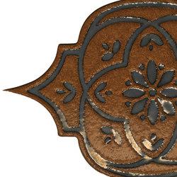 Unico tozzetto tabacco metal | Bodenfliesen | Petracer's Ceramics