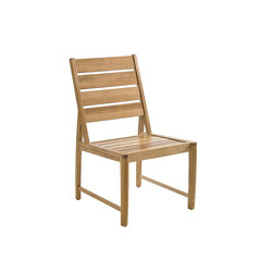Oyster Reef Dining Side Chair | Sièges de jardin | Gloster Furniture