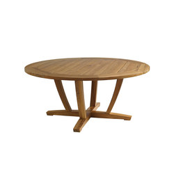 Oyster Reef Round Dining Table | Mesas de comedor de jardín | Gloster Furniture