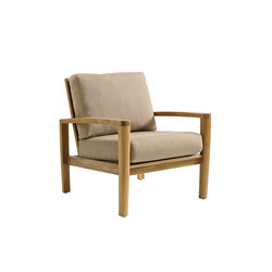 Oyster Reef Reclining Lounge Chair | Garden armchairs | Gloster Furniture