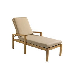 Oyster Reef Chaise | Sun loungers | Gloster Furniture GmbH