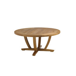Oyster Reef Round Coffee Table | Tavoli bassi da giardino | Gloster Furniture