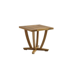 Oyster Reef Square End Table | Tables d'appoint de jardin | Gloster Furniture