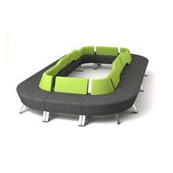 UpDown | Seating islands | PROFIM