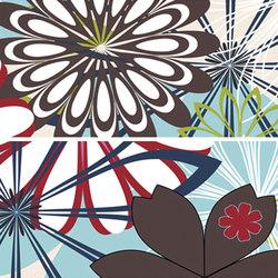 Thai listelo flora | Azulejos de pared | KERABEN