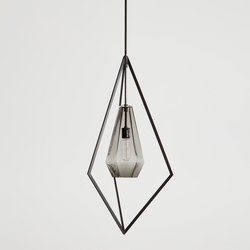 Graphite Pendant Light | Suspended lights | Farrah Sit