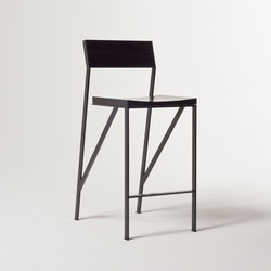Noir Barstool | Bar stools | Farrah Sit