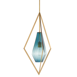 Tetra Pendant Light - Blue | General lighting | Farrah Sit