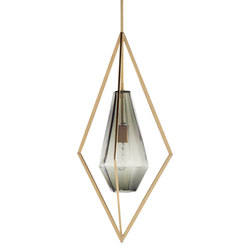 Tetra Pendant Light - Smoke | Illuminazione generale | Farrah Sit
