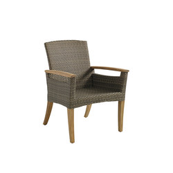 Pepper Marsh Dining Chair with Arms | Garden chairs | Gloster Furniture