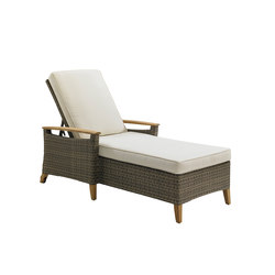 Pepper Marsh Chaise | Tumbonas de jardín | Gloster Furniture