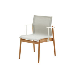 Sway Teak Stacking Chair with Arms | Chairs | Gloster Furniture GmbH