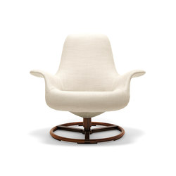 Tilt Swivel Armchair | Lounge chairs | Giorgetti