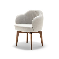 Elisa Small Armchair | Visitors chairs / Side chairs | Giorgetti