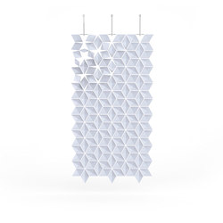 Hanging Room Divider Facet - paleblue | Raumteilsysteme | Bloomming