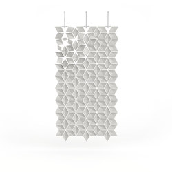 Hanging Room Divider Facet - pearlgray | Sistemi divisori stanze | Bloomming