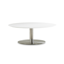 Quiet Round Coffee Table | Mesas de centro | Bernhardt Design