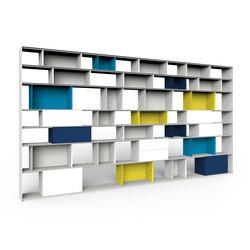 Stack Shelfsystem | Systèmes d'étagères | Müller Möbelfabrikation