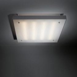Square moon backlit IP40 TL5 4x 14W 1-10V GI | General lighting | Modular Lighting Instruments