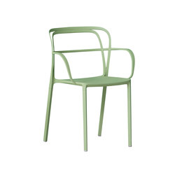 Intrigo | Restaurant chairs | PEDRALI