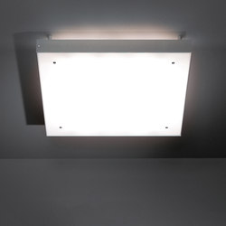 Square moon backlit IP55 TL5 4x 24W GI | General lighting | Modular Lighting Instruments