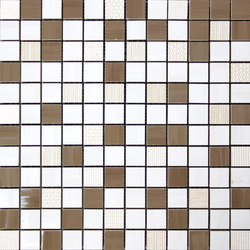 Lounge malla lounge marron | Mosaics | KERABEN