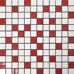 Lounge malla lounge rojo | Mosaici | KERABEN