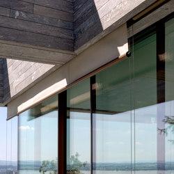 swissFineLine Gesamtlösung Beschattung / Verdunkelung | Fassadensysteme | swissFineLine