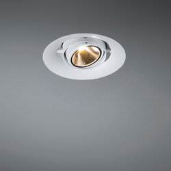 Thub metal 120 concrete LED 1-10V/Pushdim RG | Recessed ceiling lights | Modular Lighting Instruments
