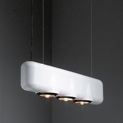 U shape suspended 3x AR111 GI | Lampade spot | Modular Lighting Instruments