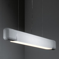 U shape suspended TL5 GI | Pendant strip lights | Modular Lighting Instruments