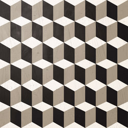 Handcraft Deco Rubik Rect | Ceramic tiles | INALCO